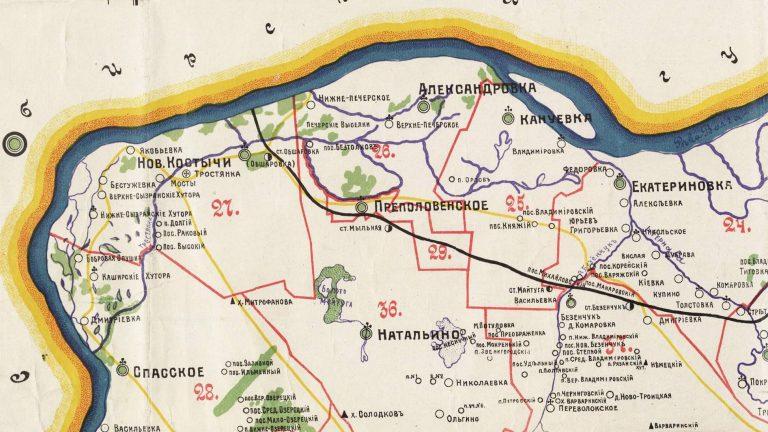 Исчезнувшие деревни Приволжского района
