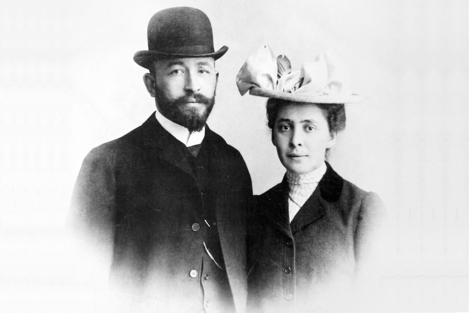 Самарин Александр Дмитриевич с супругой Верой