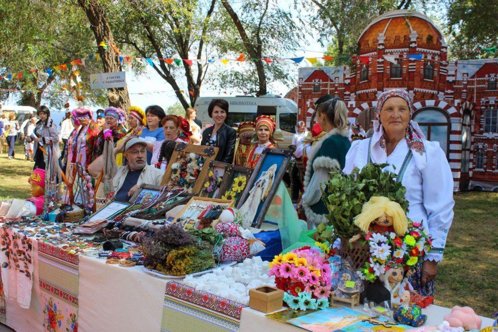 Праздник в Приволжском районе