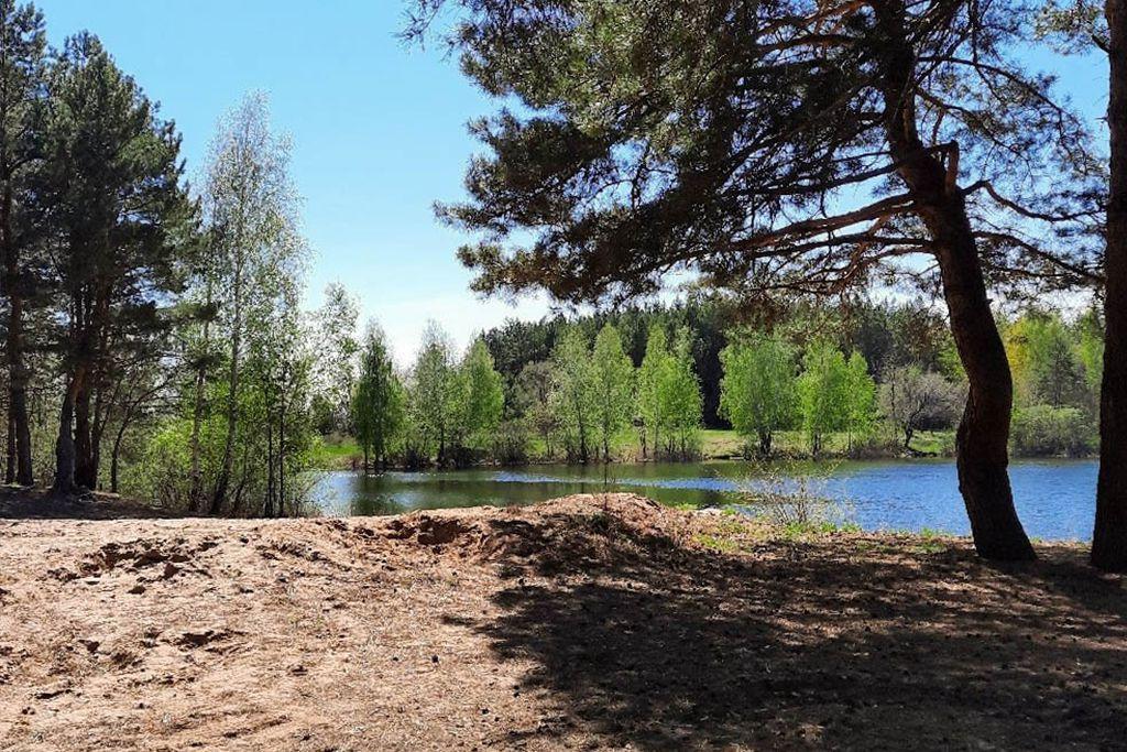 Озеро «Турбаза» в с. Заволжье