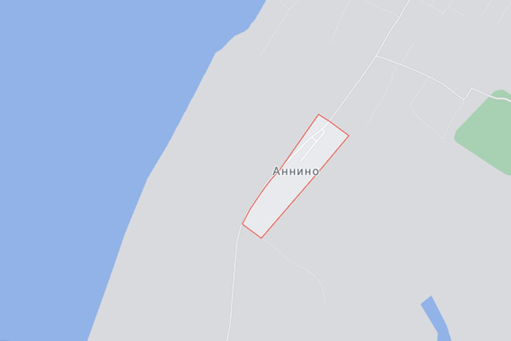 село Аннино на карте